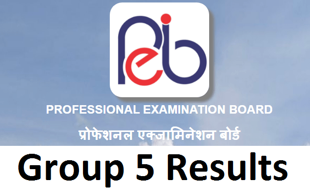 MPPEB Group 5 Result