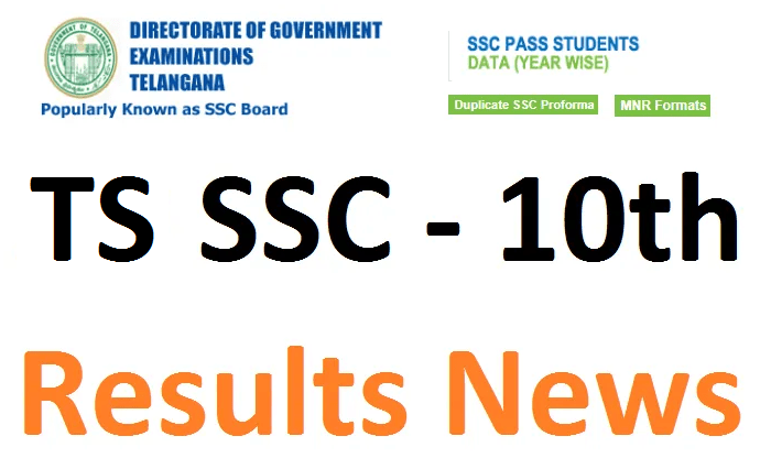 TS SSC Results name wise