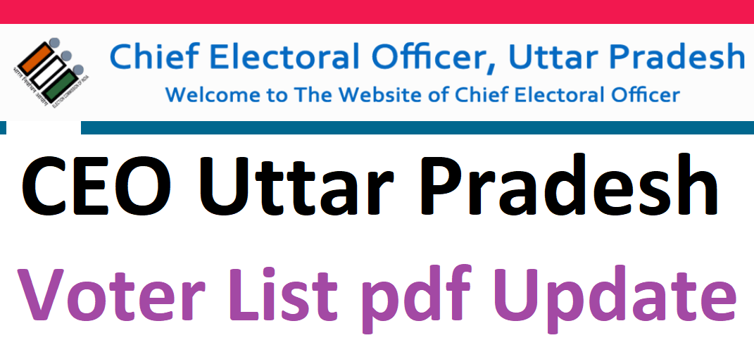 CEO UP Voter List 2022