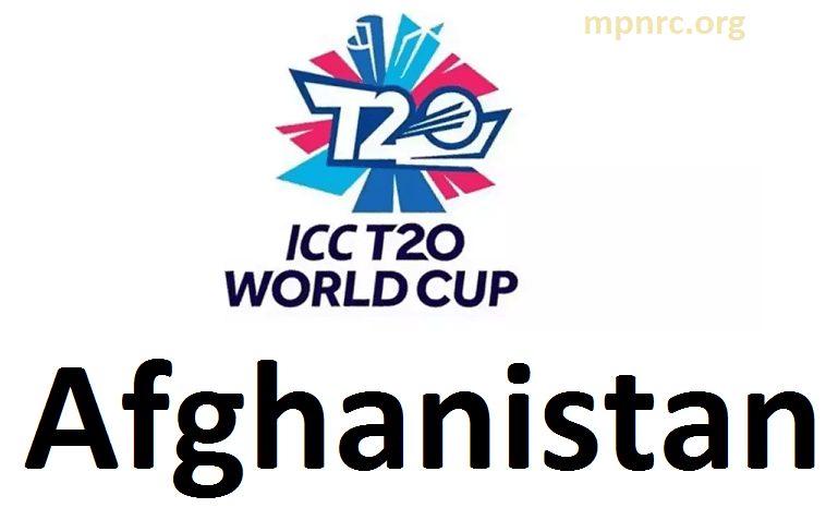 ICC T20 world cup afghanistan squad