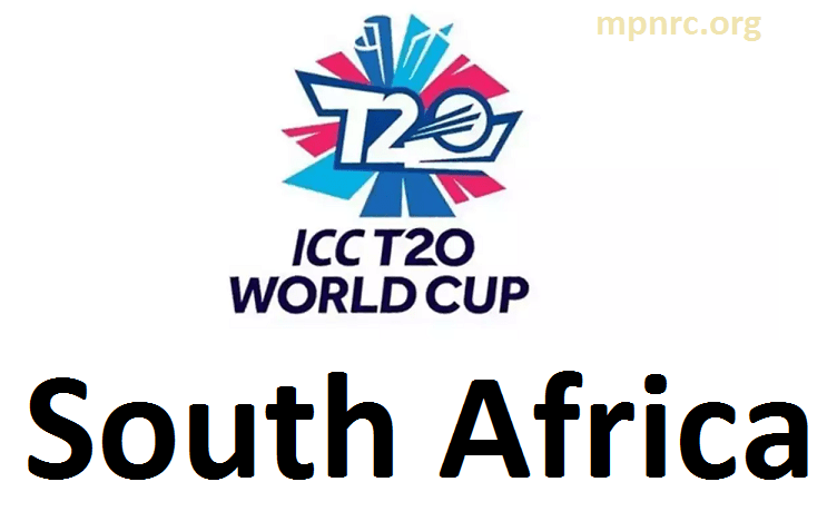 ICC t20 world cup south africa team