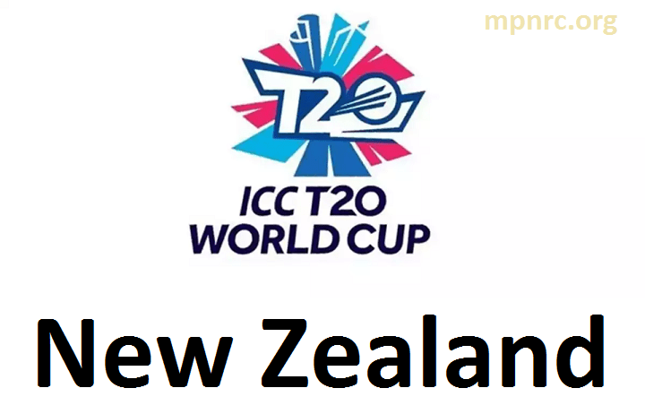 T20 World Cup New Zealand Team